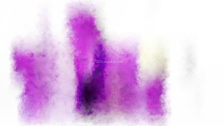 Purple and White Water Paint Background Image
