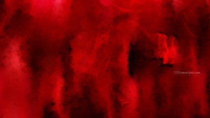 Red and Black Watercolor Texture Image