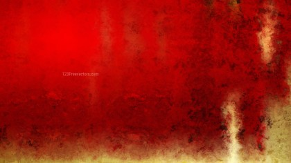 Red and Gold Watercolor Background Texture
