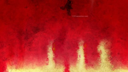 Red and Gold Watercolor Texture Background