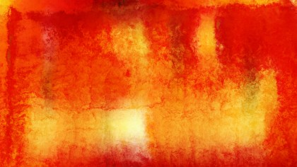 Red and Orange Watercolor Texture Background