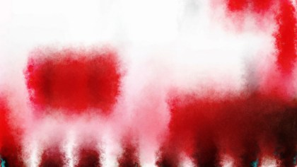 Red and White Watercolor Background Texture Image