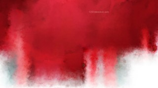 Red and White Watercolor Background Image