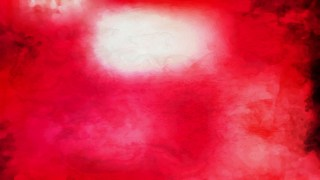 Red and White Watercolor Background