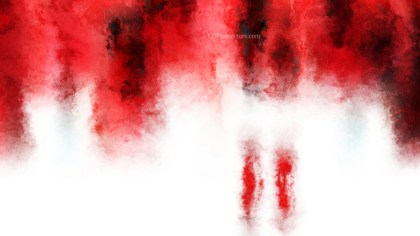 Red and White Grunge Watercolour Texture Background Image