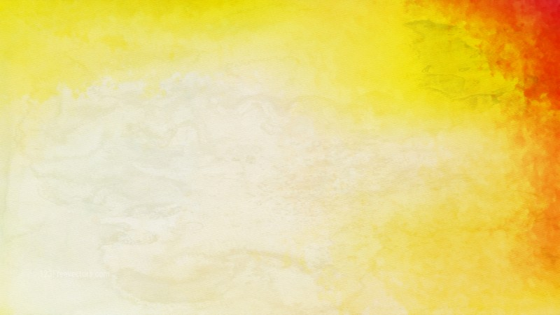 Red and Yellow Water Color Background