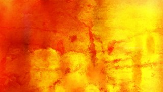 Red and Yellow Grunge Watercolour Background