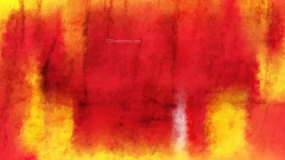Red and Yellow Grunge Watercolor Texture