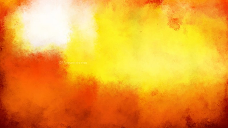 Red and Yellow Distressed Watercolour Background Image