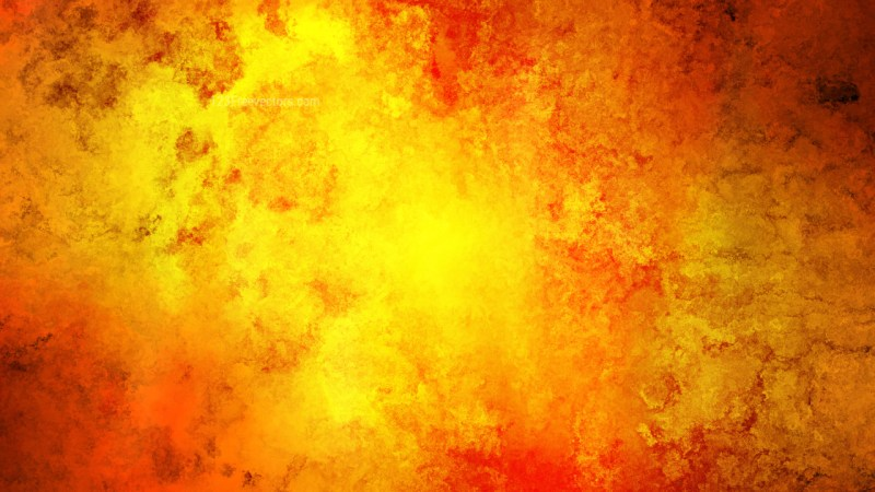 Red and Yellow Grunge Watercolor Background Image