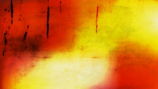 Red and Yellow Watercolor Background Texture Image