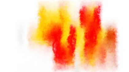 Red White and Yellow Grunge Watercolor Texture Background
