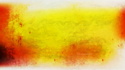 Red White and Yellow Watercolor Background Texture