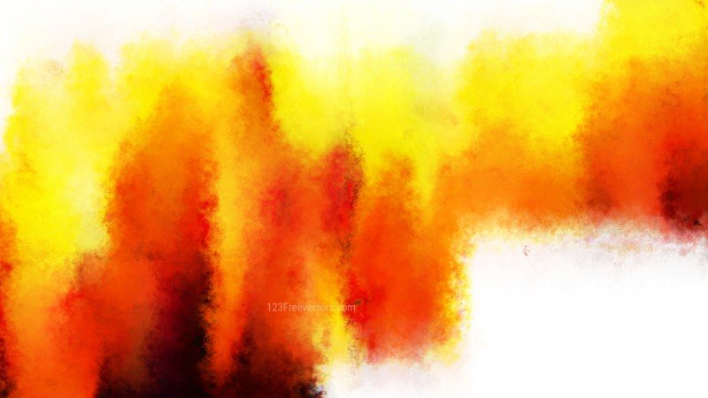 Red White and Yellow Grunge Watercolor Texture Background Image