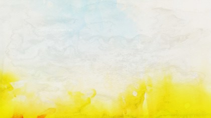Yellow and White Aquarelle Texture