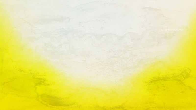 Yellow and White Aquarelle Texture Image