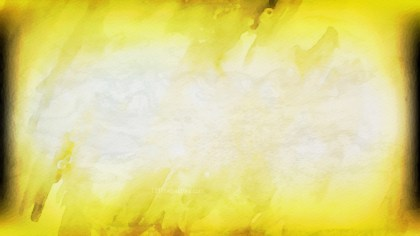 Yellow and White Water Paint Background Image