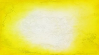 Yellow and White Distressed Watercolor Background