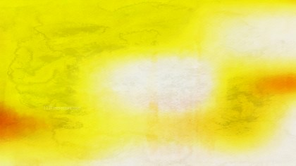 Yellow and White Distressed Watercolour Background