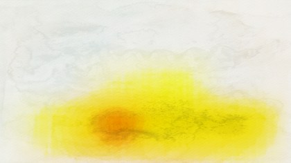 Yellow and White Aquarelle Background