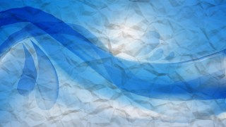 Blue Paper Texture Background Image