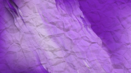 Bright Purple Crumpled Paper Background