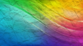 Colorful Crumpled Paper Background Image