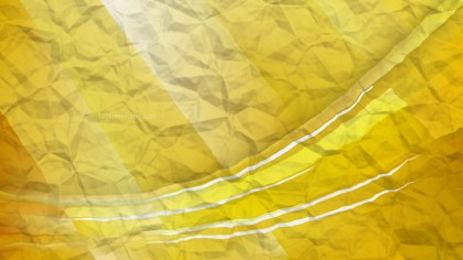 Gold Wrinkled Paper Background Image