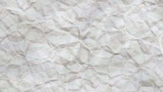 Light Grey Wrinkled Paper Background