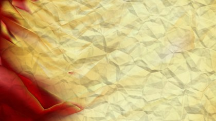 Red and Gold Crumpled Paper Background