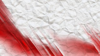 Red and White Wrinkled Paper Background