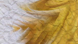 White and Gold Wrinkled Paper Background Image