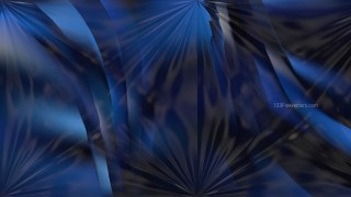 Shiny Black and Blue Abstract Background Design