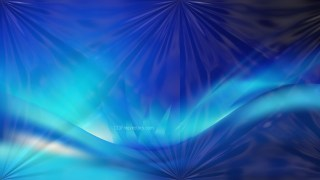 Shiny Black and Blue Abstract Background