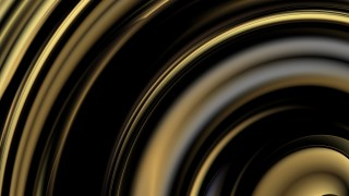 Abstract Black and Gold Background Design