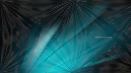 Shiny Black and Turquoise Abstract Background