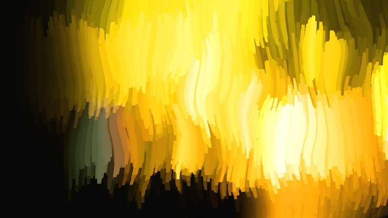 Abstract Black and Yellow Graphic Background Design