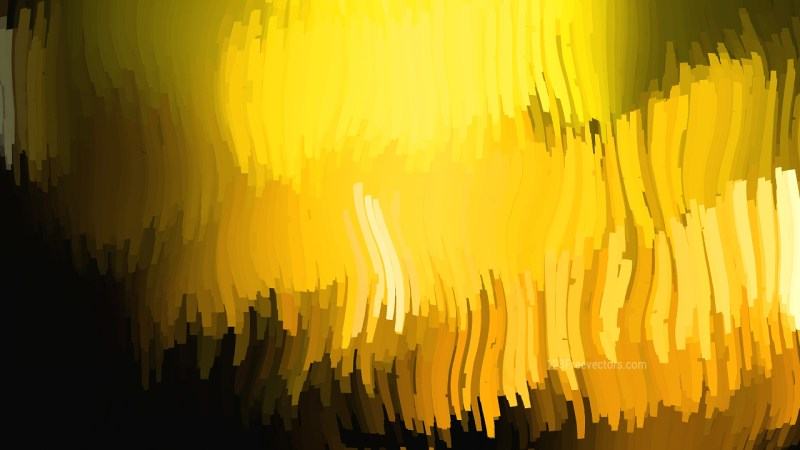 Abstract Black and Yellow Graphic Background Image