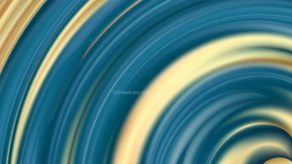 Abstract Blue and Gold Background