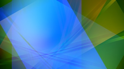 Abstract Blue and Green Graphic Background Design