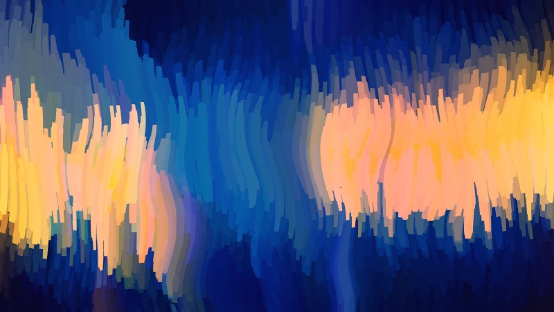 Abstract Blue and Orange Graphic Background