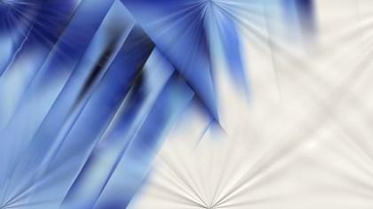 Shiny Blue and White Background