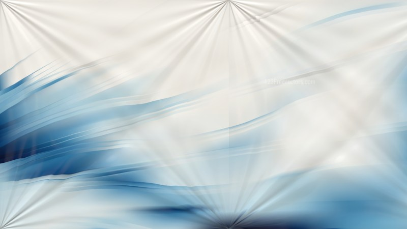Blue and White Abstract Shiny Background