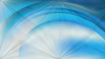 Blue and White Shiny Background Design
