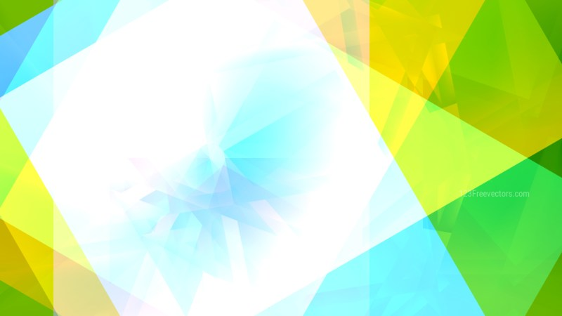 Abstract Blue Green and White Graphic Background Image