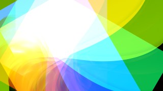 Abstract Blue Green and Yellow Graphic Background Design