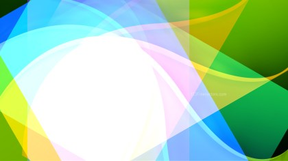 Blue Green and Yellow Background Image