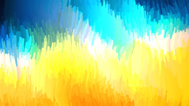 Abstract Blue Orange and White Graphic Background