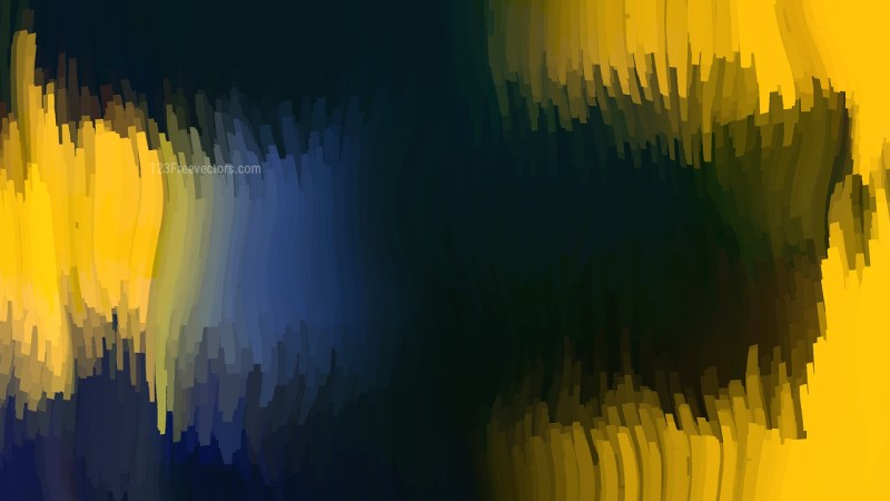 Abstract Blue Yellow and Black Background