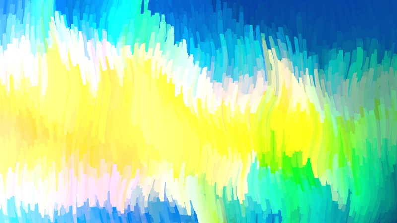 Abstract Blue Yellow and White Graphic Background